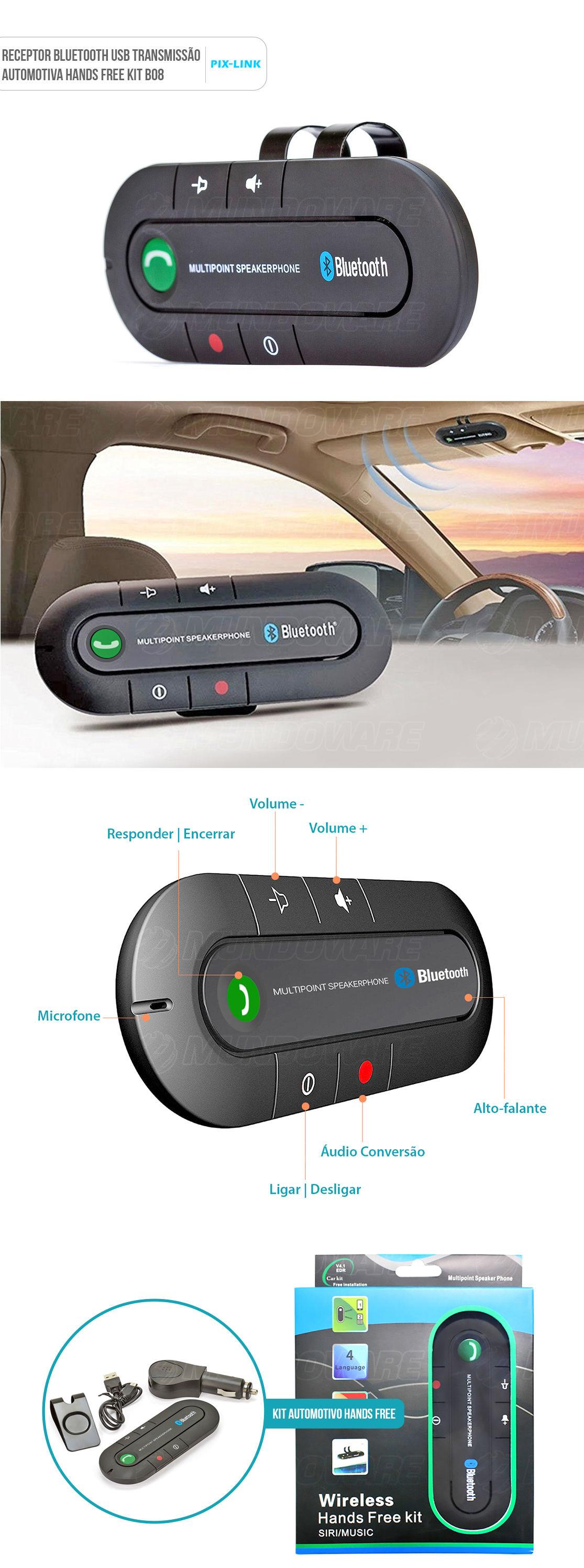 Viva Voz Veicular para celular bluetooth para carro
