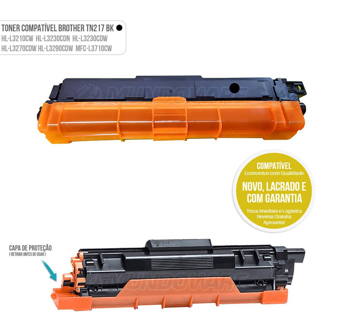 Toner para impressora Laser Brother HL-L3210cw HL-L3230cdw HL-L3270cdw HL-L3710cdw DCP-L3551cdw DCP-L3510cdw DCP-L3550cdw MFC-L3710cw MFC-L3730cdw MFC-L3750cdw MFC-L3745cdw MFC-L3770cdw Tonner Preto