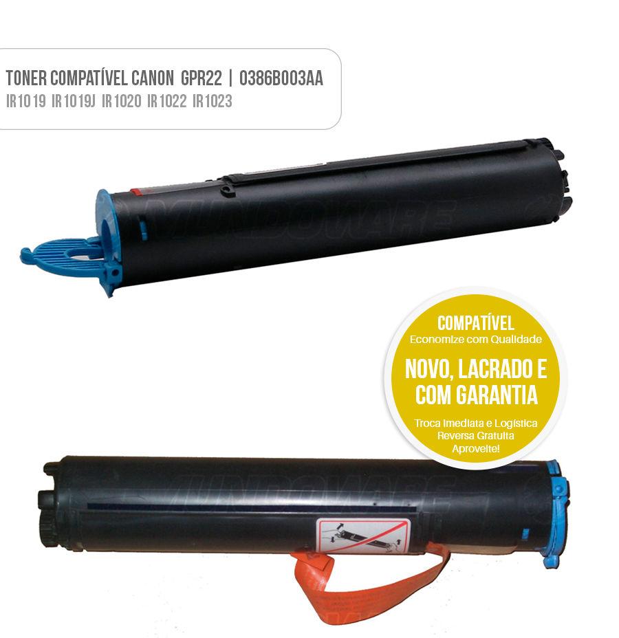 Toner Compativel para impressora Canon IR-1019J IR-1021J IR-1022 IR-1023 IR-1023IF IR-1023N IR-1024 IR-1025 IR-1018 IR-1020 IR-1024F IR-1024IF IR-1025IF IR-1025N Tonner