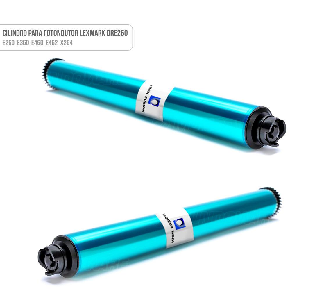 Cilindro para Fotocondutor DRe260 para Impressora E260 E360 E460 E462 X264