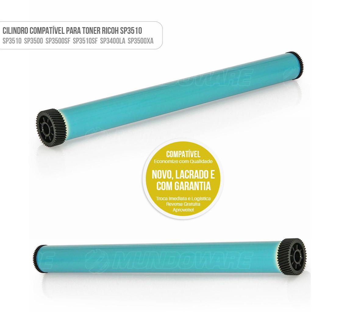 Cilindro para Toner Ricoh SP3510 SP3500 SP3500SF SP3510SF SP3400LA SP3500XA