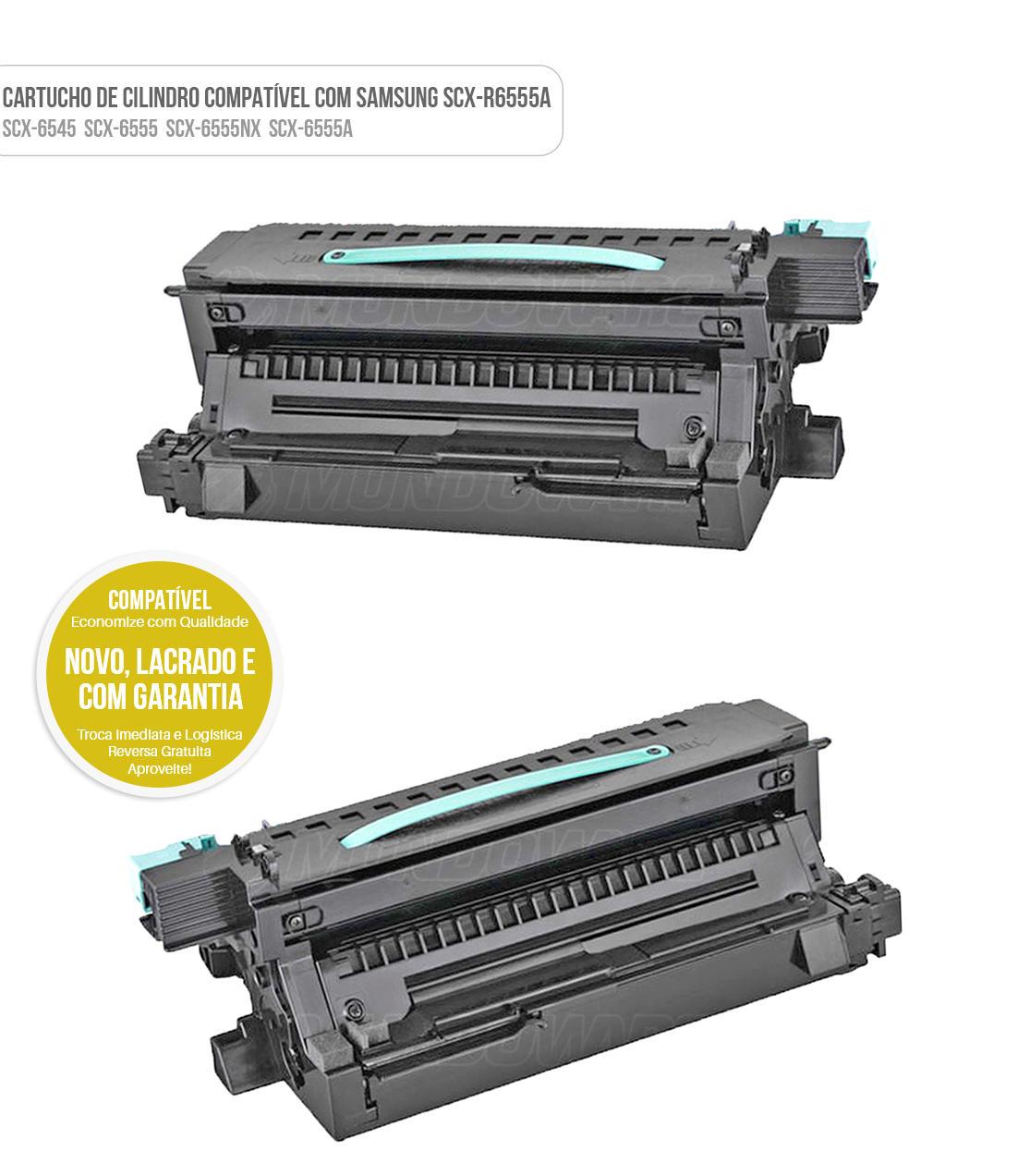 Cartucho de Cilindro Fotocondutor Compatível para Samsung 6555 SCX-6555 SCX-6555NX SCX-6555N SCX-D6555A 80K