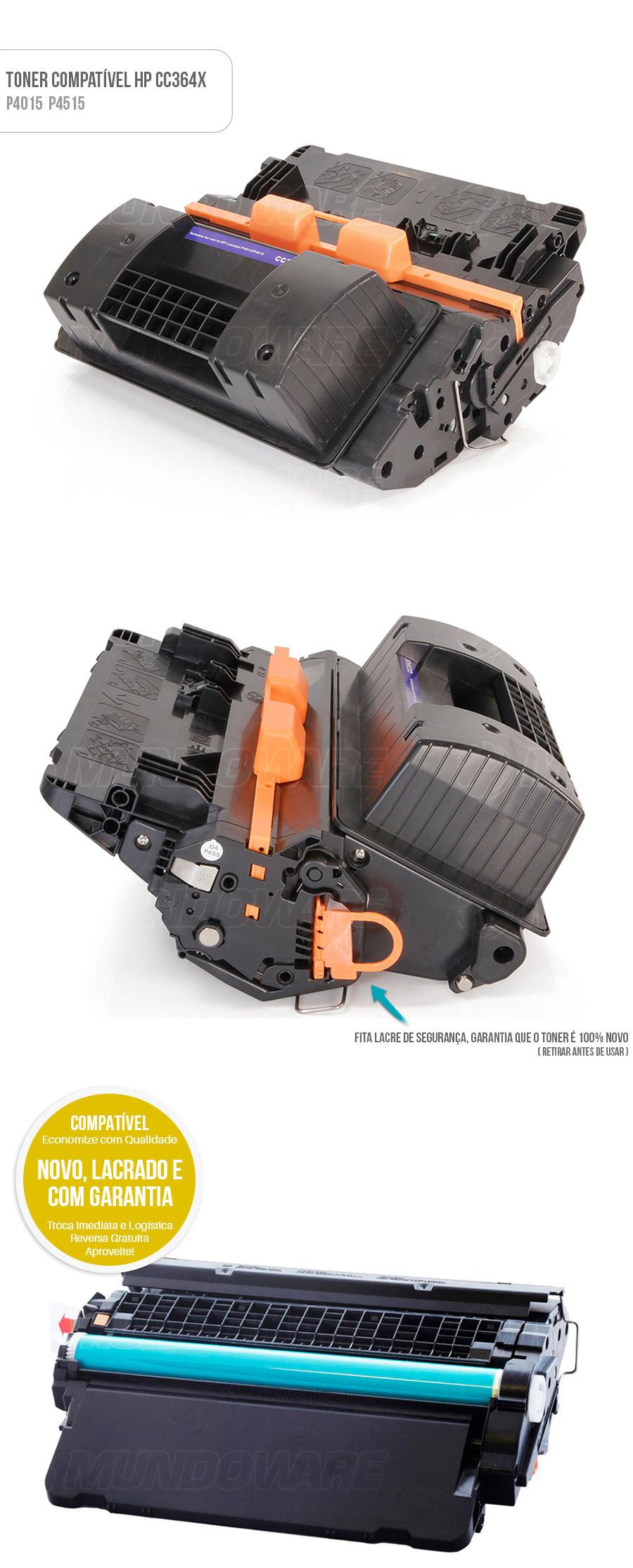 Toner Compativel para P4015 P4015N P4015DN P4015TN P4515 P4515N P4515X P4515TN P4515DN P4515XM