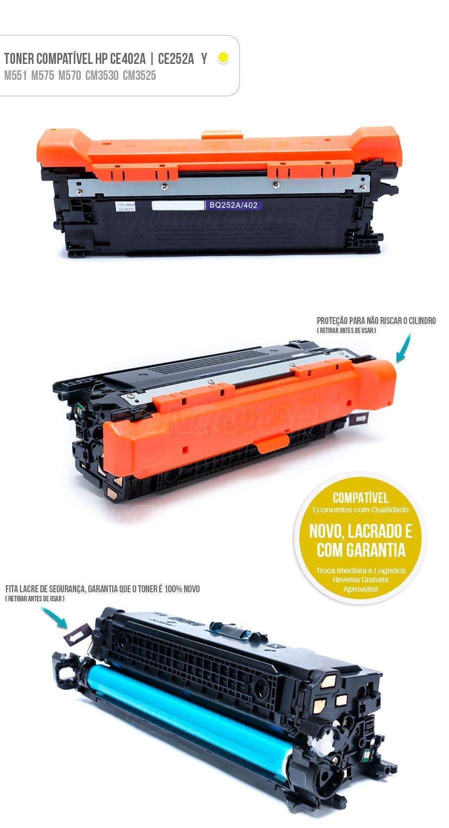 Tonner Color HP 504A | CP3525 CP3525DN CM3530 CM3530FS M500 M575 M575F M551 M551N M551DN M570