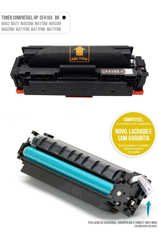 Color Laserjet M477 M452 M477FDW M452DN M477FNW M452NW Tonner HP 401X Black