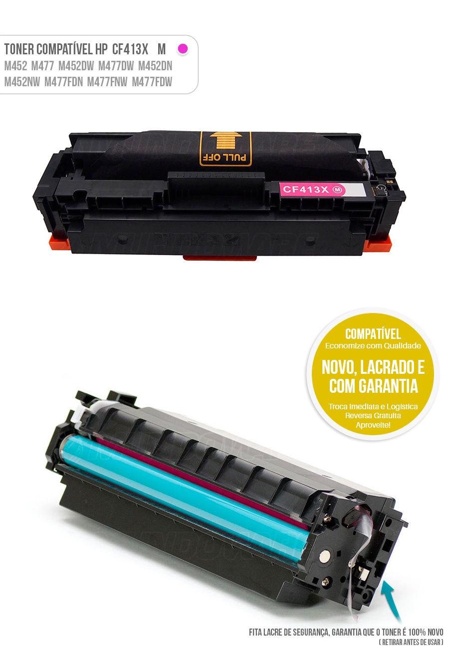 Color Laserjet M477 M452 M477FDW M452DN M477FNW M452NW Tonner HP 401X Magenta