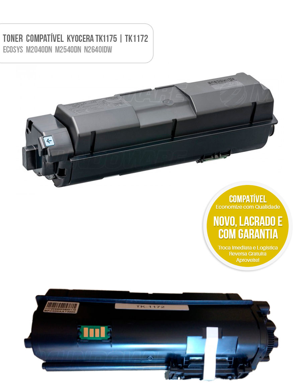 Tonner Compativel kyocera tk1172 tk-1175 tk1175 Ecosys M2040 M2540 M2640 M2040DN M2540DN M2640IDW