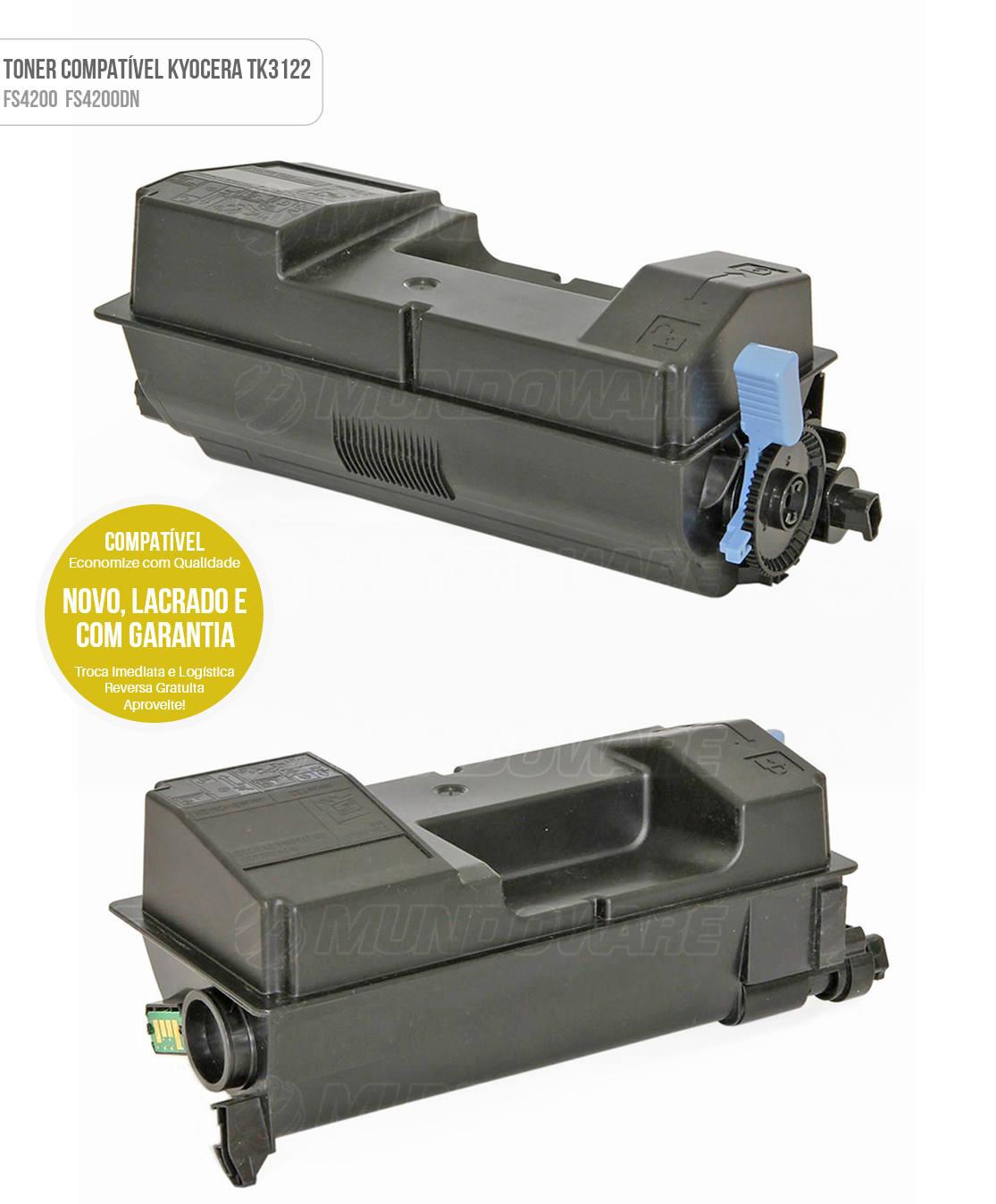 Toner Compatível para FS4200 FS4200DN FS-4200 FS-4200DN Tonner