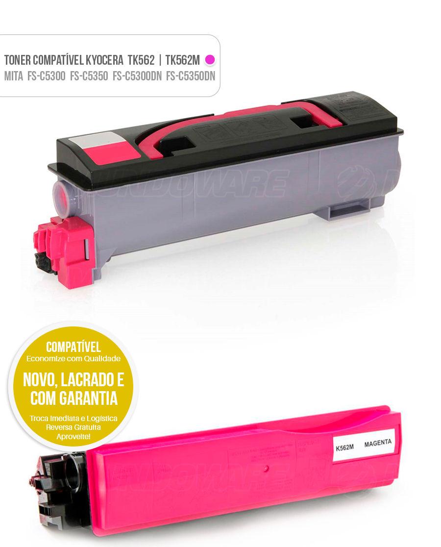 Toner Kyocera Mita FS-C5300 FS-C5350 FS-C5300DN FS-C5350DN FSC5300 FSC5350 FSC5300DN FSC5350DN FS C 5300 FS C 5350 FS C 5300DN FS C 5350DN Tonner Color Magenta Vermelho