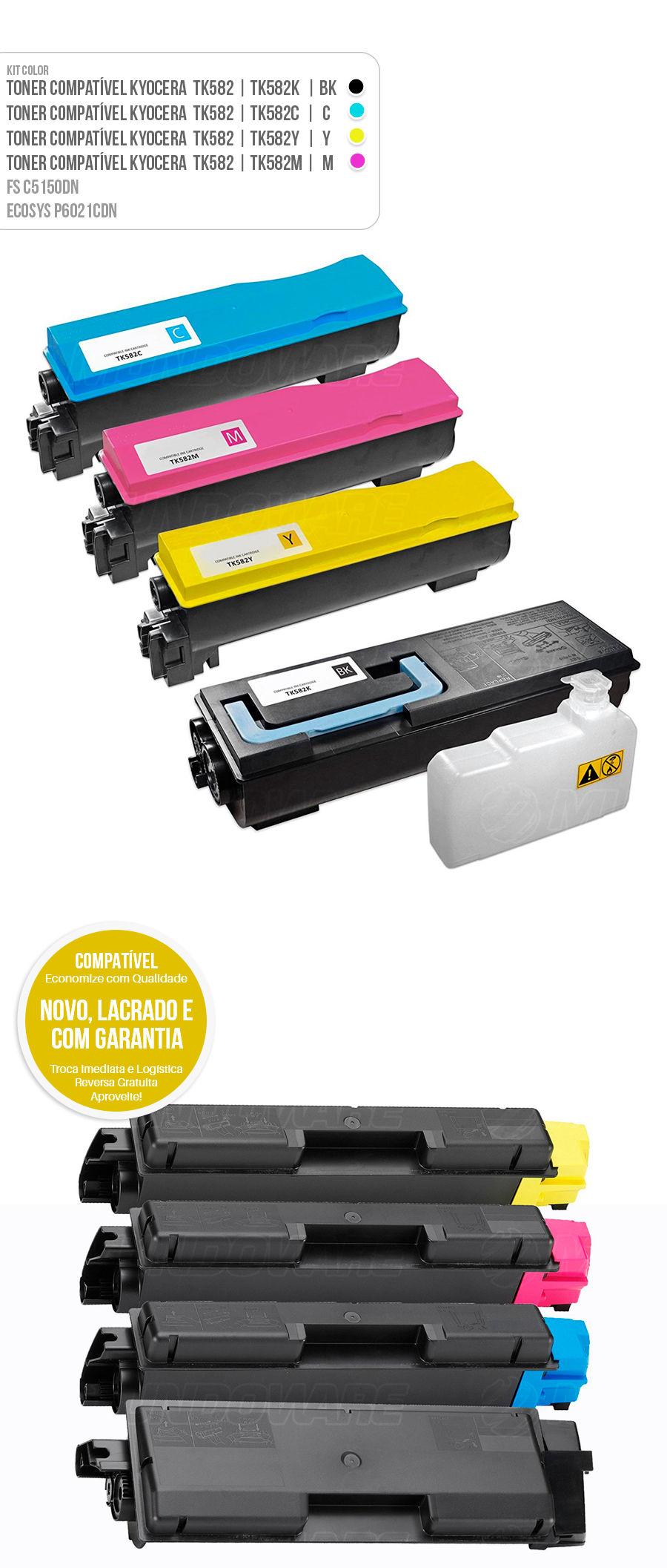 Toner Kyocera FS-C5150DN FS-C5150 FSC5150DN FSC5150 5150DN Ecosys P6021CDN P6021 P-6021CDN P-6021 Tonner Color