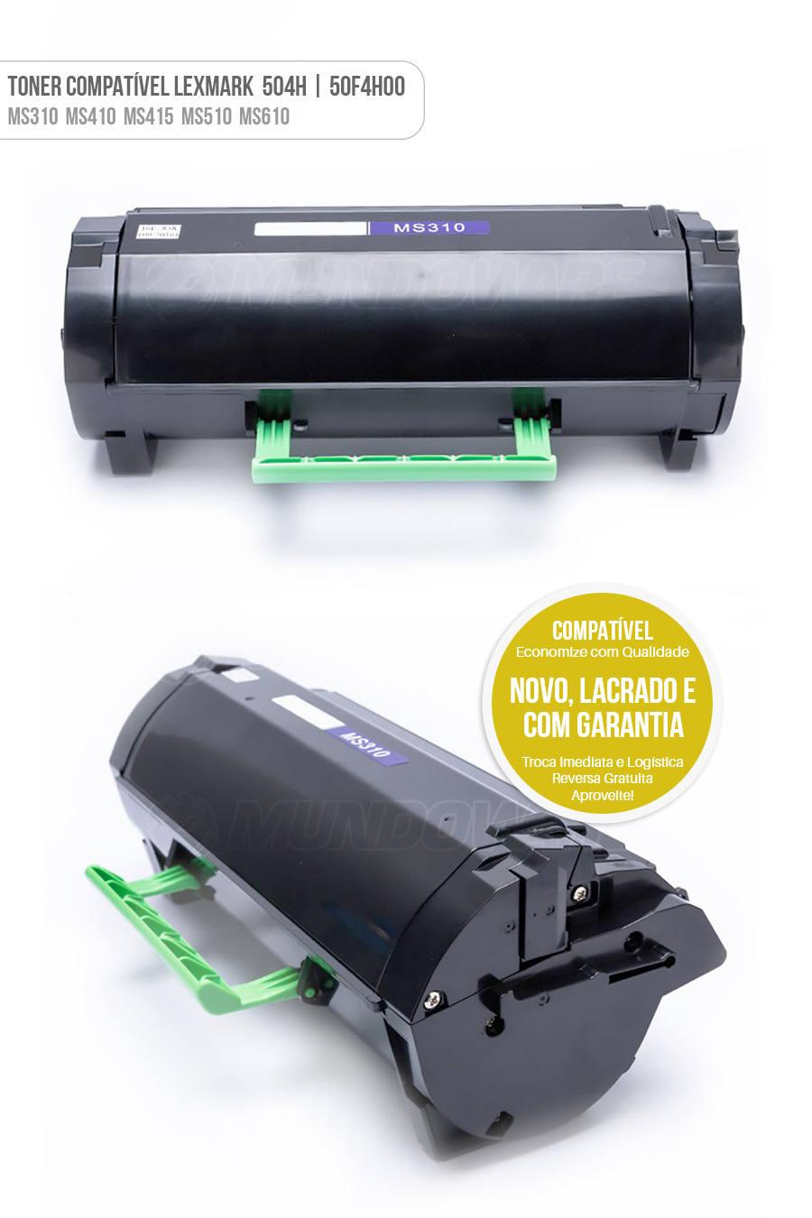 Lexmark Toner MS310 MS310D MS310DN MS312 MS312DN MS315 MS315DN MS410 MS410DN MS410D MS415 MS415DN MS510 MS510DN MS610 MS610DN MS610DE MS610DTE Tonner