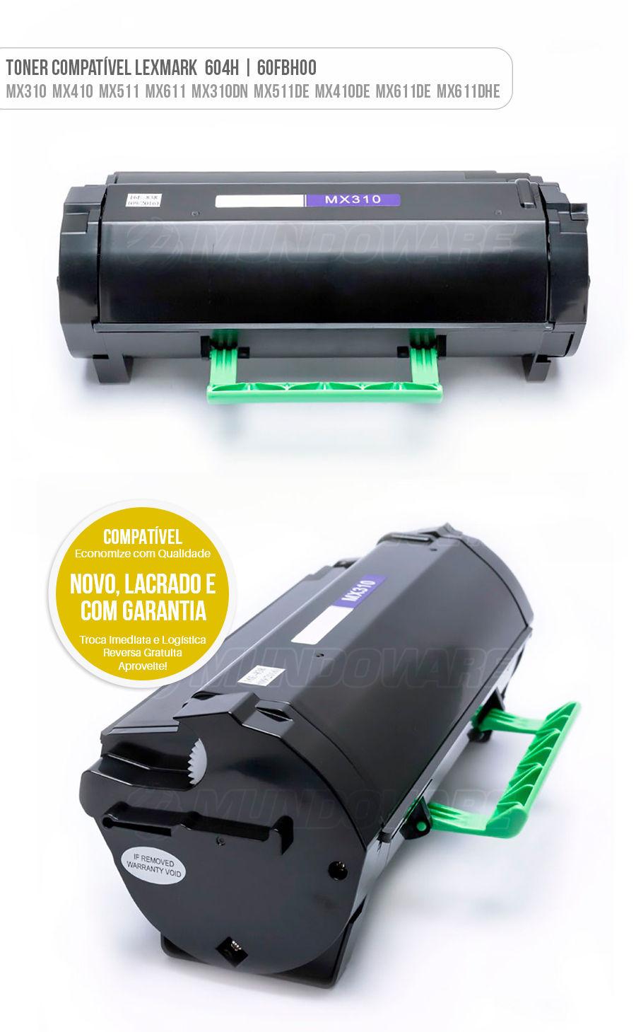 Lexmark Toner MX310 MX410 MX511 MX611 MX310DN MX410DE MX511DE MX511DHE MX611DE MX611DHE MX611DFE Tonner