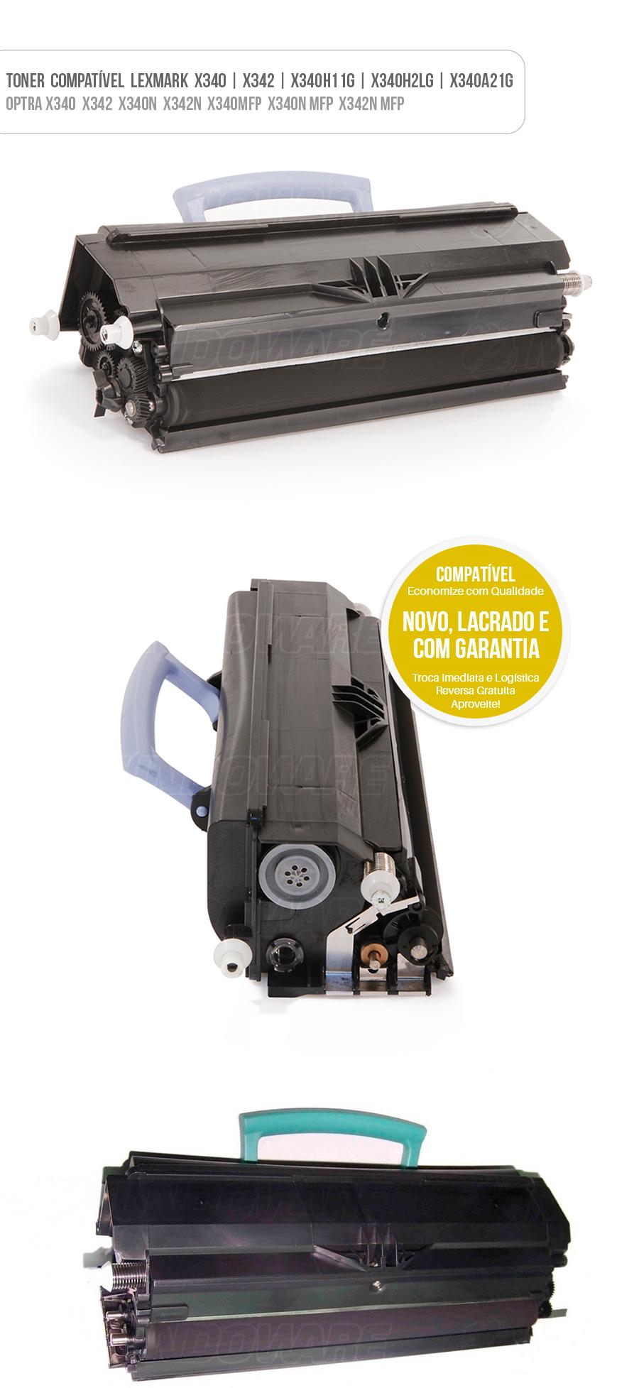 Tonner Compatível Lexmark X340 X342