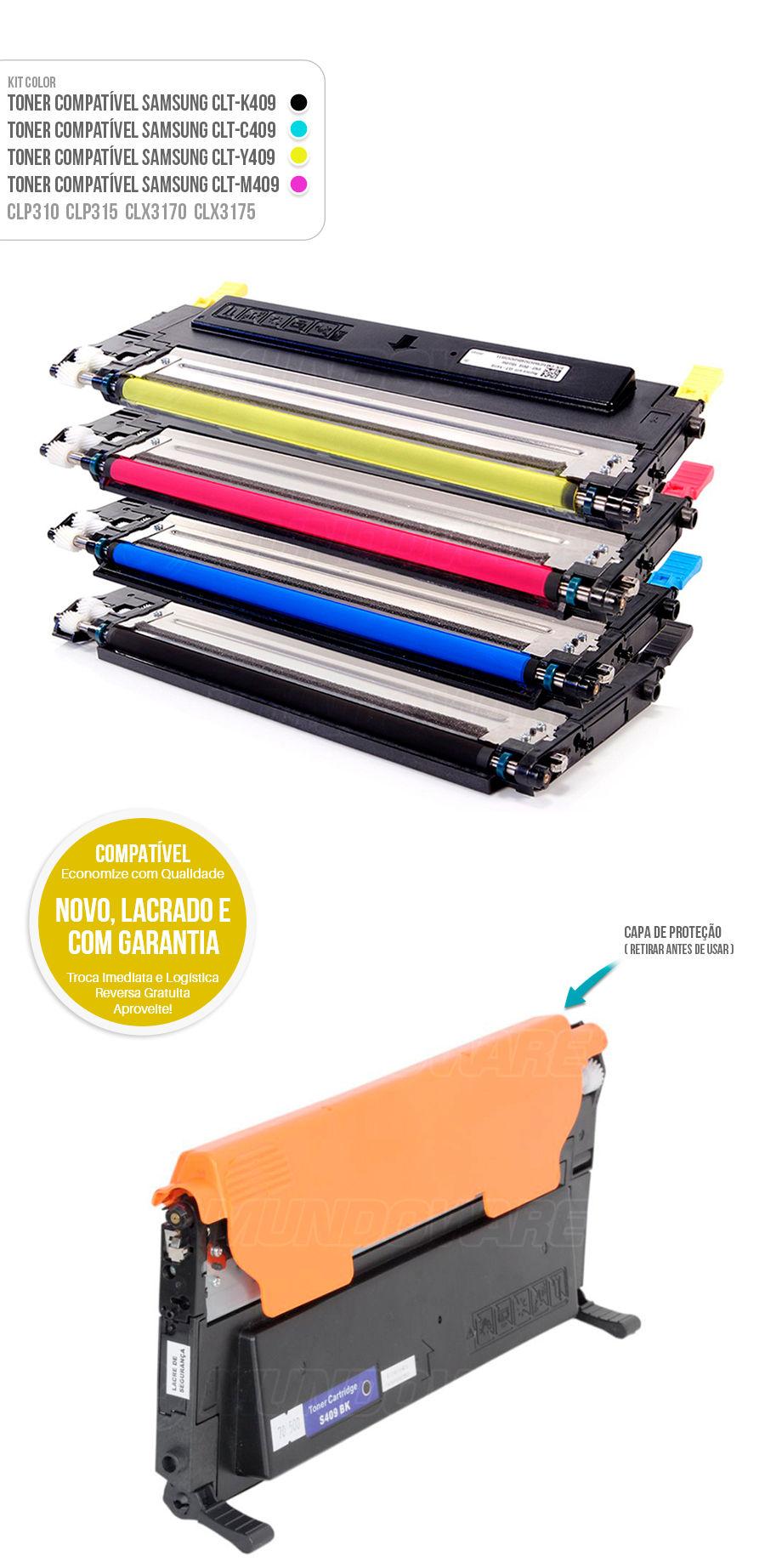 Toner Compatível para impressora samsung CLT-409 409s CLT409