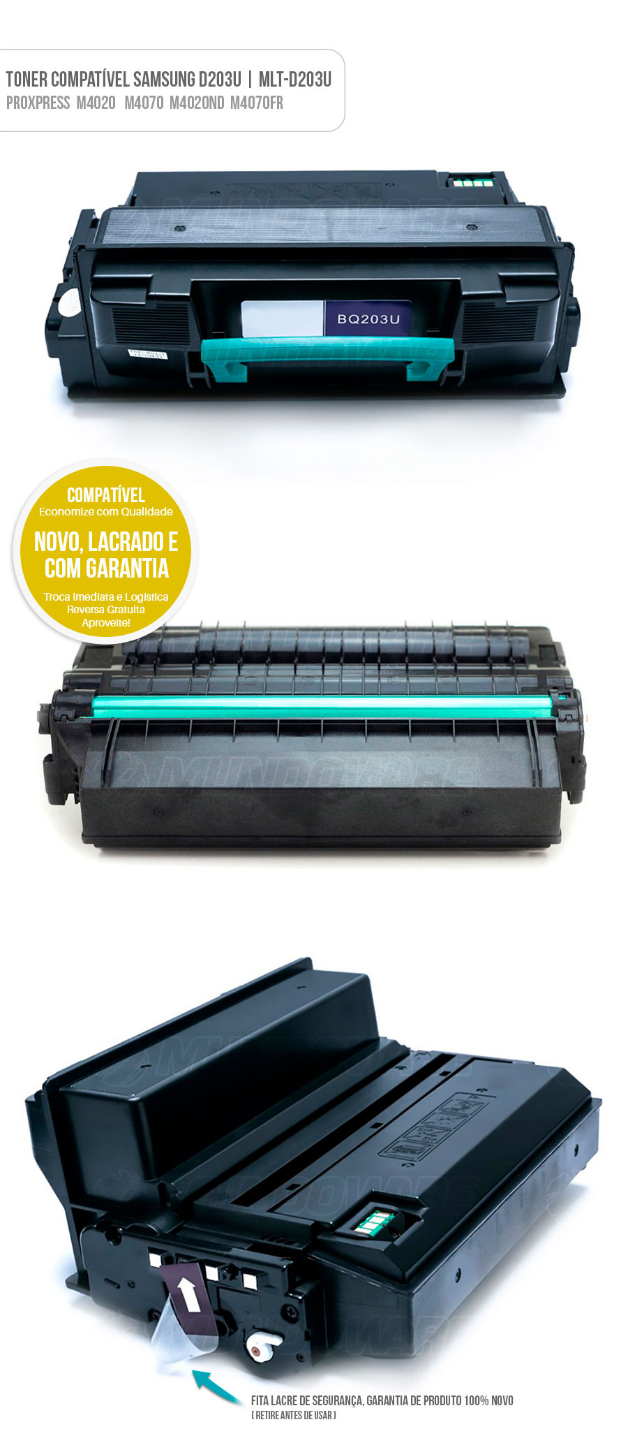 Toner para impressora ProXpress M4020ND M4070FR M4020 M4070 4020 4070 Tonner