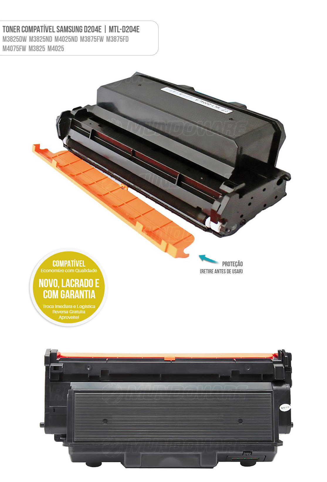 Toner para impressora M 3825DW M 3825ND M 4025ND M 3875FW M 3875FD M 4075FW tonner D204E 10k