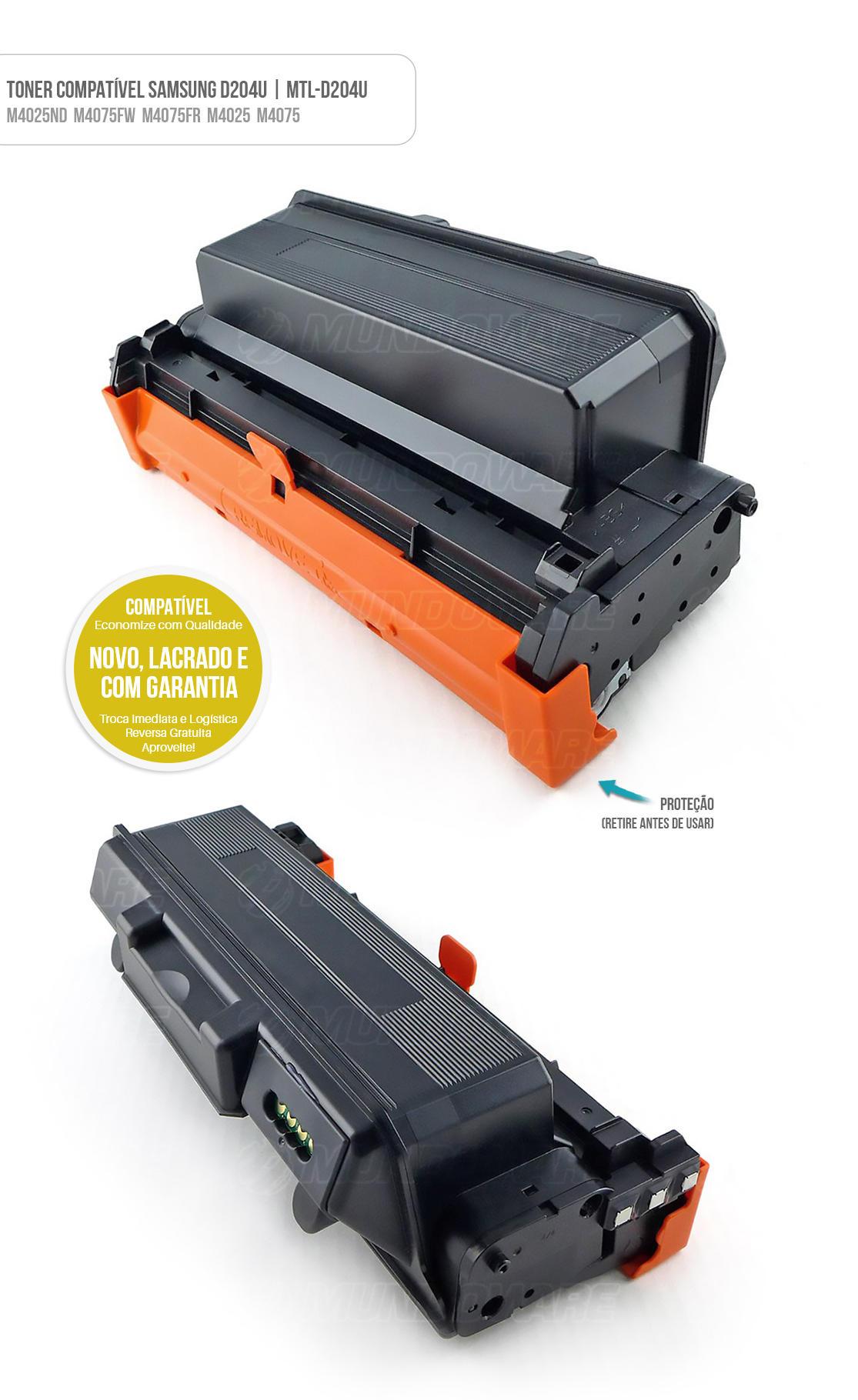 Toner para impressora M4025ND M4075FW M4075FR M4025 M4075 M 4025ND M 4075FW M 4075FR M 4025 M 4075 tonner D204U 15k