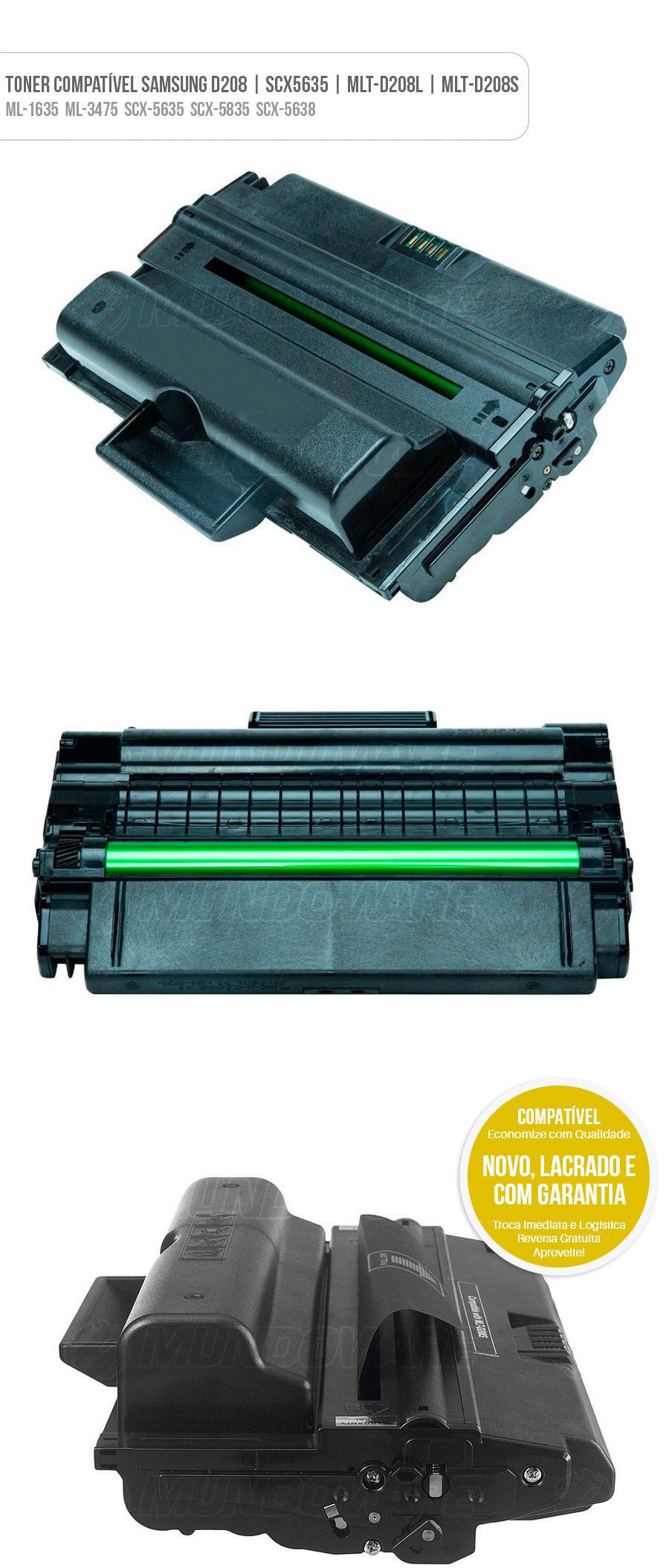 ML-1635 ML-3475 SCX-5635 SCX-5835 SCX-5638 Tonner para impressora laser
