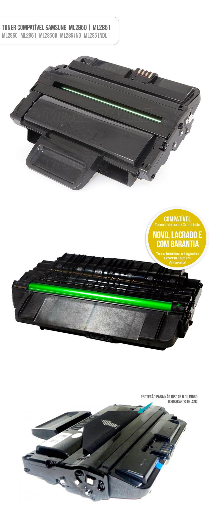 Samsung Toner ML2850 ML2851 2850 2050 2851 Tonner