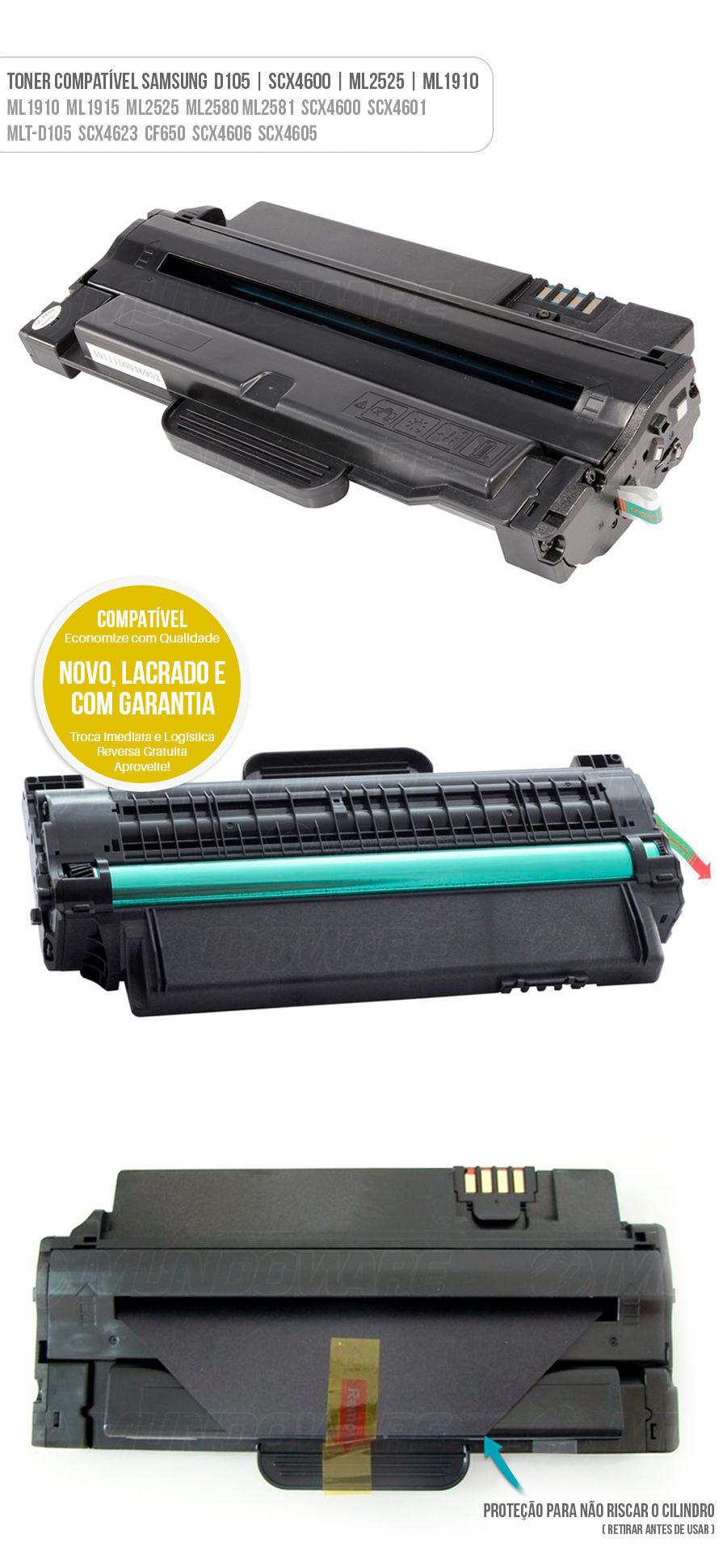 Samsung SCX4600 D105 S1053L MLTD105S S1053 D105S D105L 105L 105S Tonner