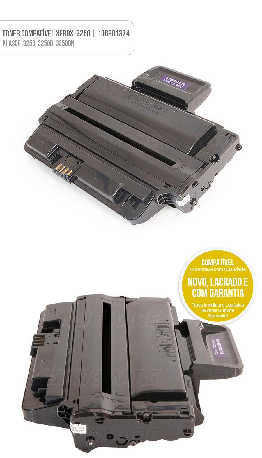 tonner compatível Xerox 3250 3250D 3250DN
